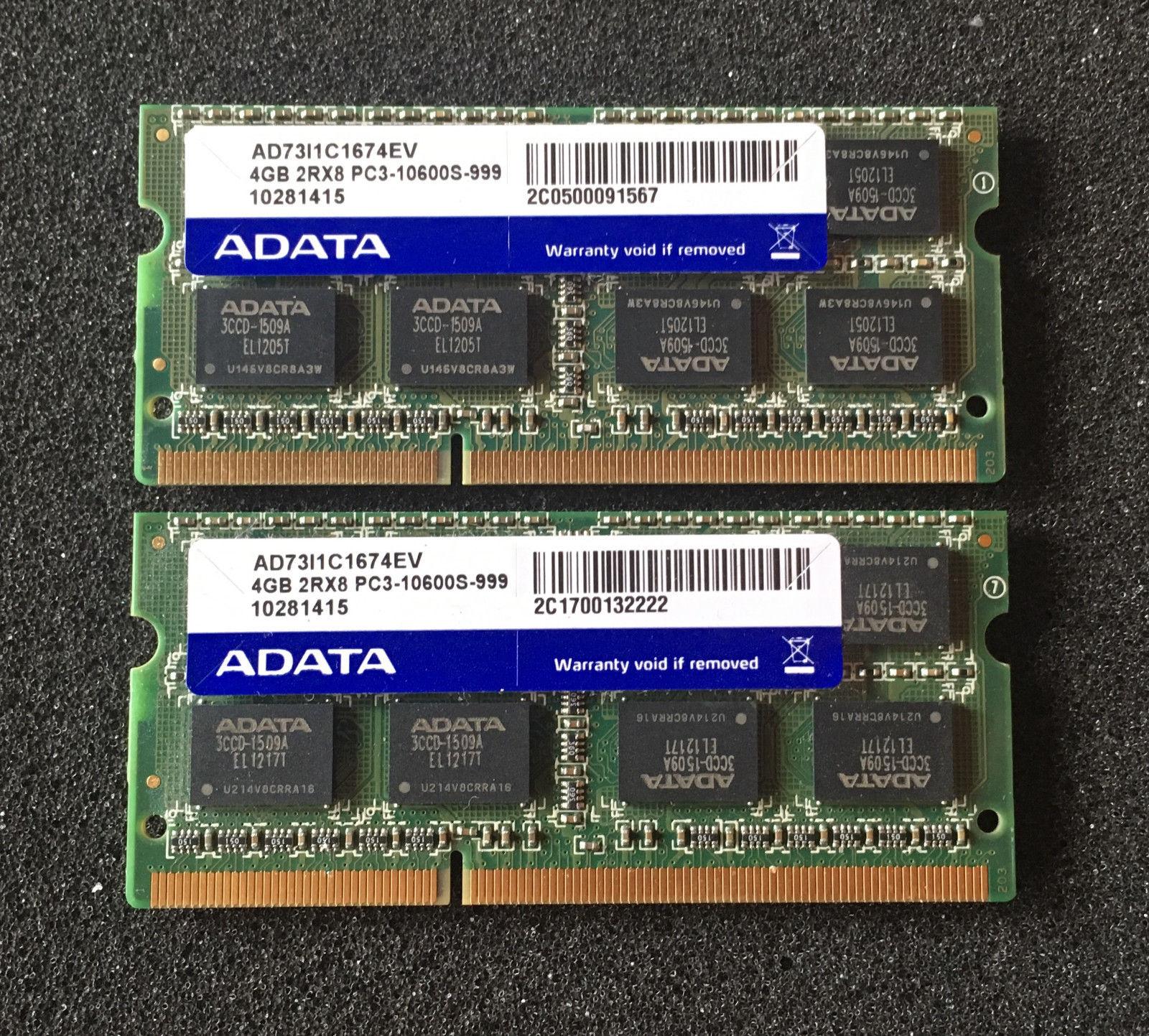 Matching Lot 5 4GB Hynix PC3-12800S DDR3 1600 2Rx8 Laptop Memory Notebook RAM