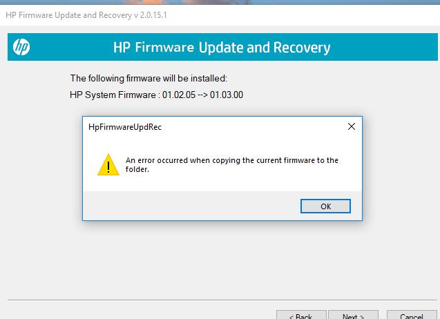 Solved: X476DN Firmware Update Failure