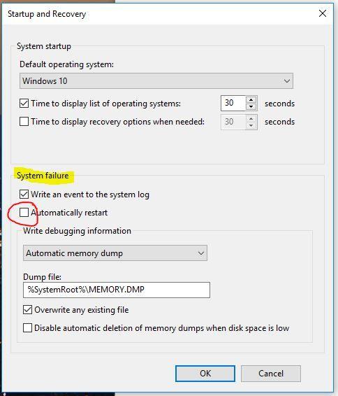 HP omen 15-ce001nx windows 10 BSOD - HP Support Community