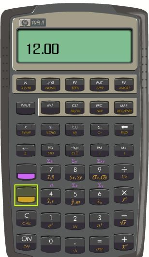 hp 10bii continuous compound calculation problem hp support forum rh h30434 www3 hp com