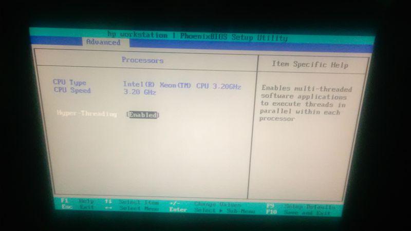 BIOS Config