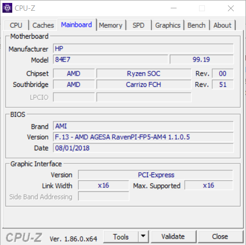 Ryzen 3 2200U capped at 400MHz when switched on using Batter