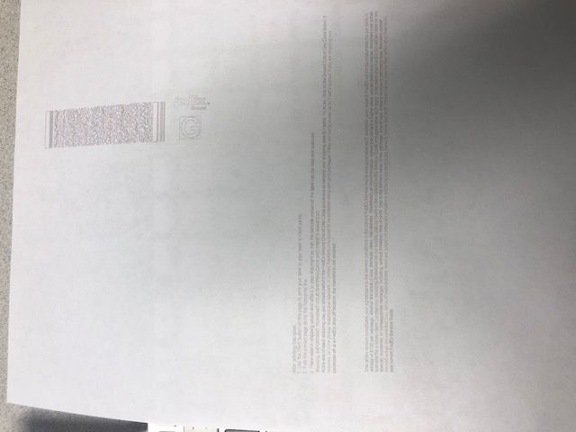 Printer not printing correctly - HP Support Community - 6831615