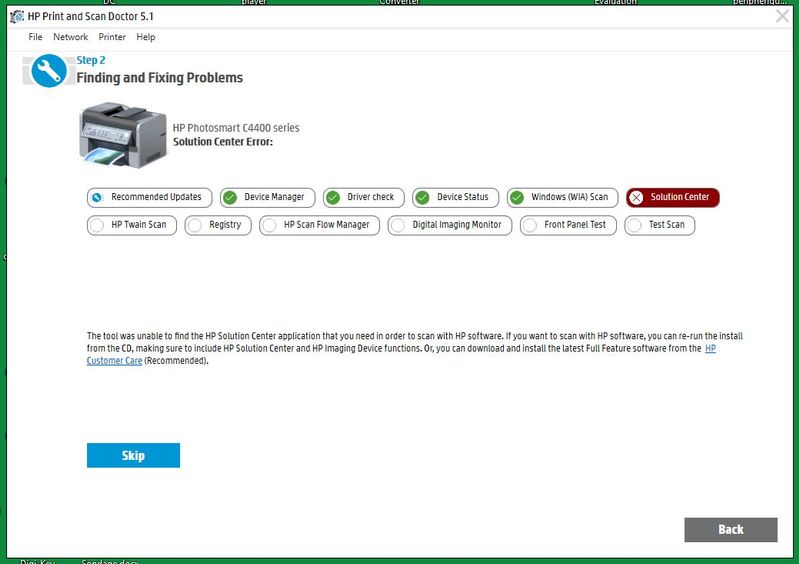 free download hp solution center for windows 7 64 bit