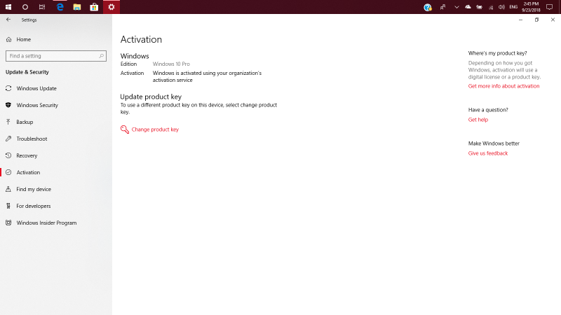 windows 10 activation key will expire soon