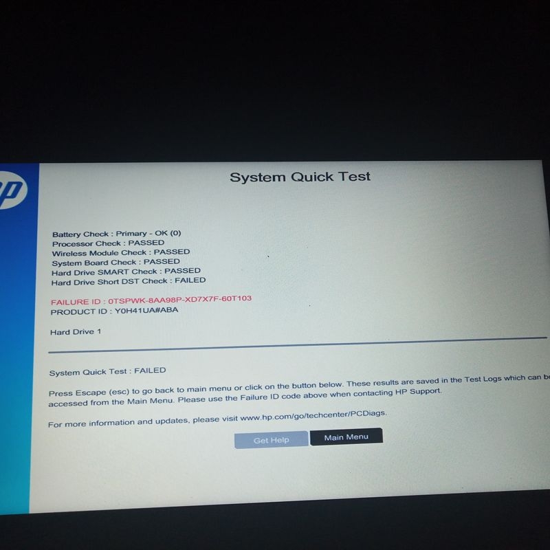 Error code 0xc0000185 - HP Support Community - 6555743