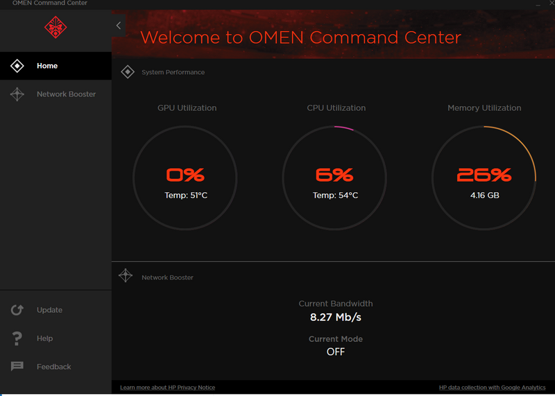 Solved: Omen Command Center missing features - HP Support Community