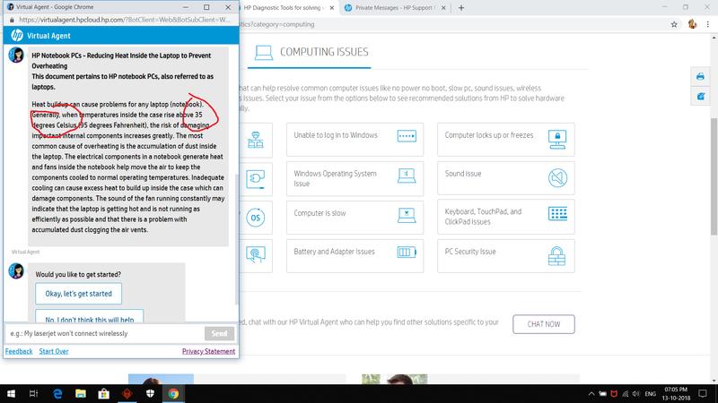 hp omen cpu temp 50-60 - HP Support Community - 6862082