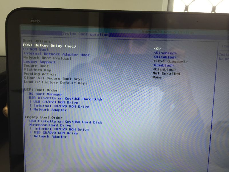 HP ENVY 15 Laptop wont boot from USB - HP Support Community
