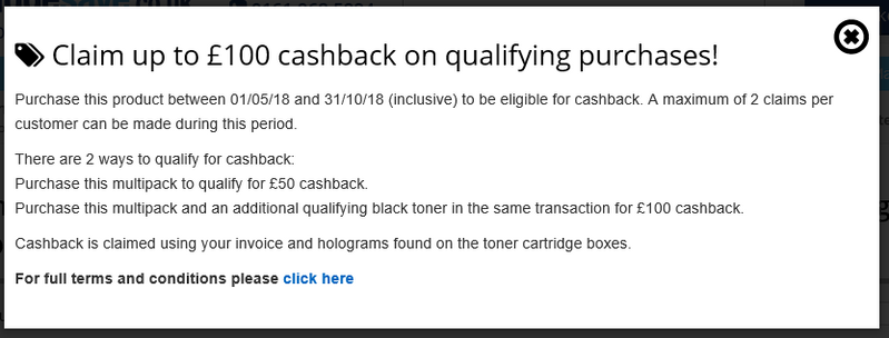 Here is how to claim the cashback