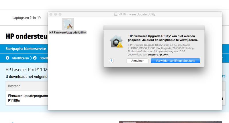 software hp p1102w para mac