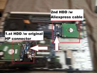 adding a 2nd HDD on HP Envy 17 nXXX