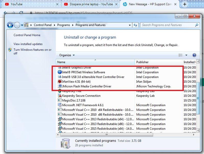intel proset wireless driver windows 10 64 bit