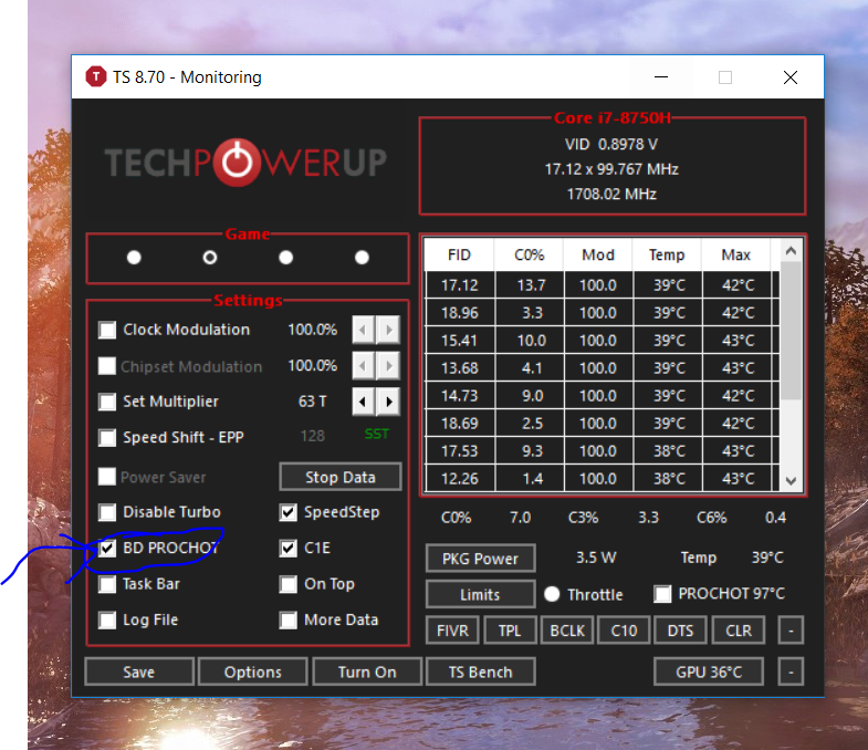 CPU stuck at 800MHz core speed - HP Support Community - 6860019