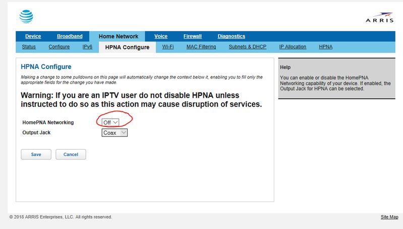 ATT  hpna Setting for printer communication.png
