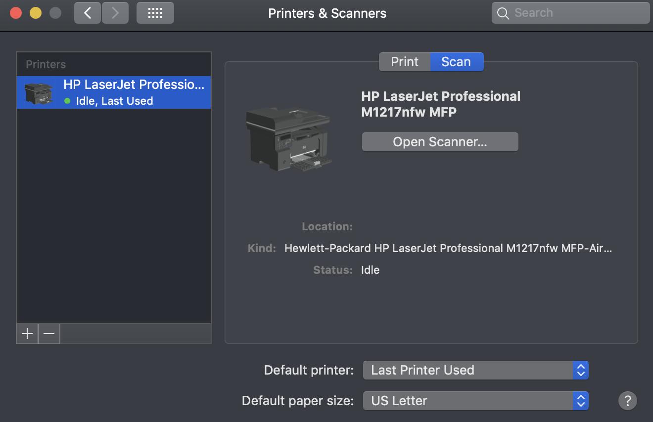 Hp laserjet m1217nfw driver download (wireless printer driver).