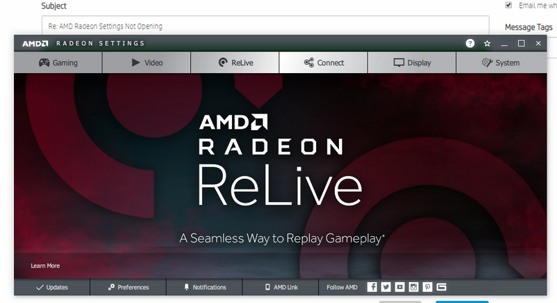 Solved: AMD Radeon Settings Not Opening - HP Support Community - 6897941