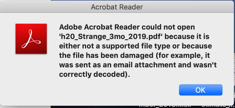 Solved: error on mac when opening pdf scanned on laserjet m1212nf.