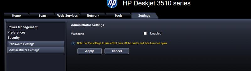 hp deskjet 3510 series drivers download