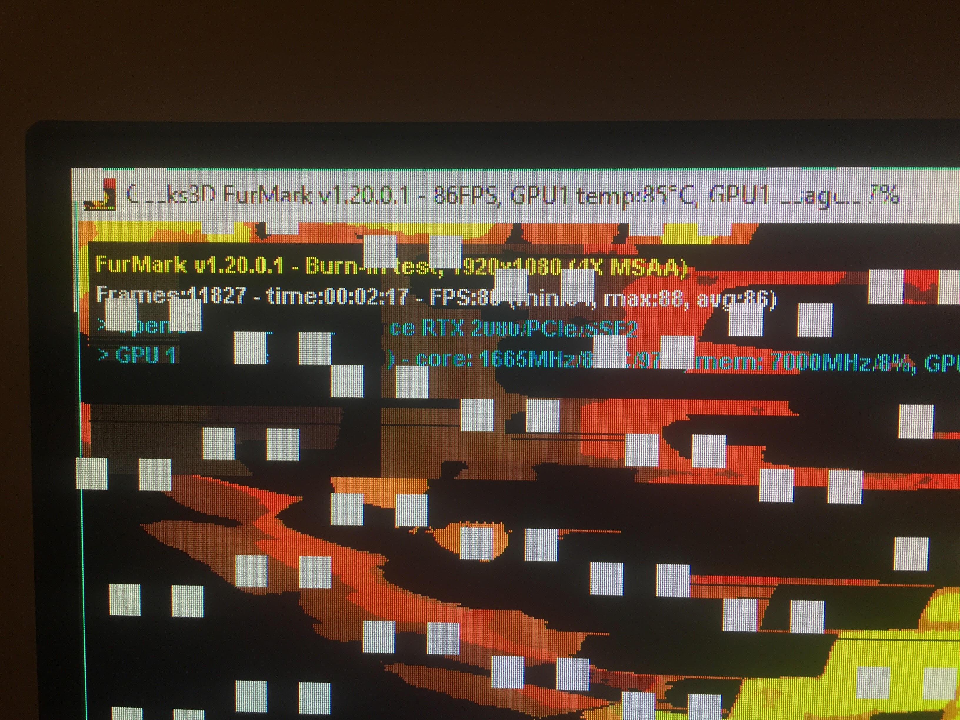 Omen Obelisk 2080 Desktop Crashing in Games, problem may be