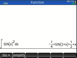 Integral of sin 2 ln x