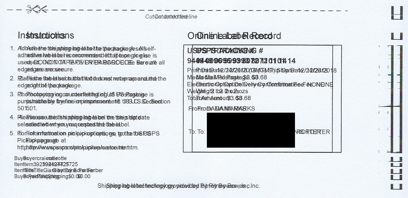 HP Officejet 8710 prints