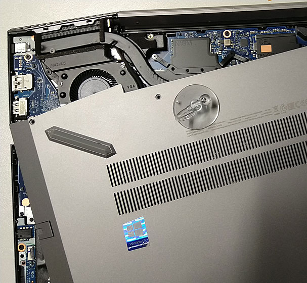 Solved: HP Zbook 15v g5 - how to remove the bottom cover