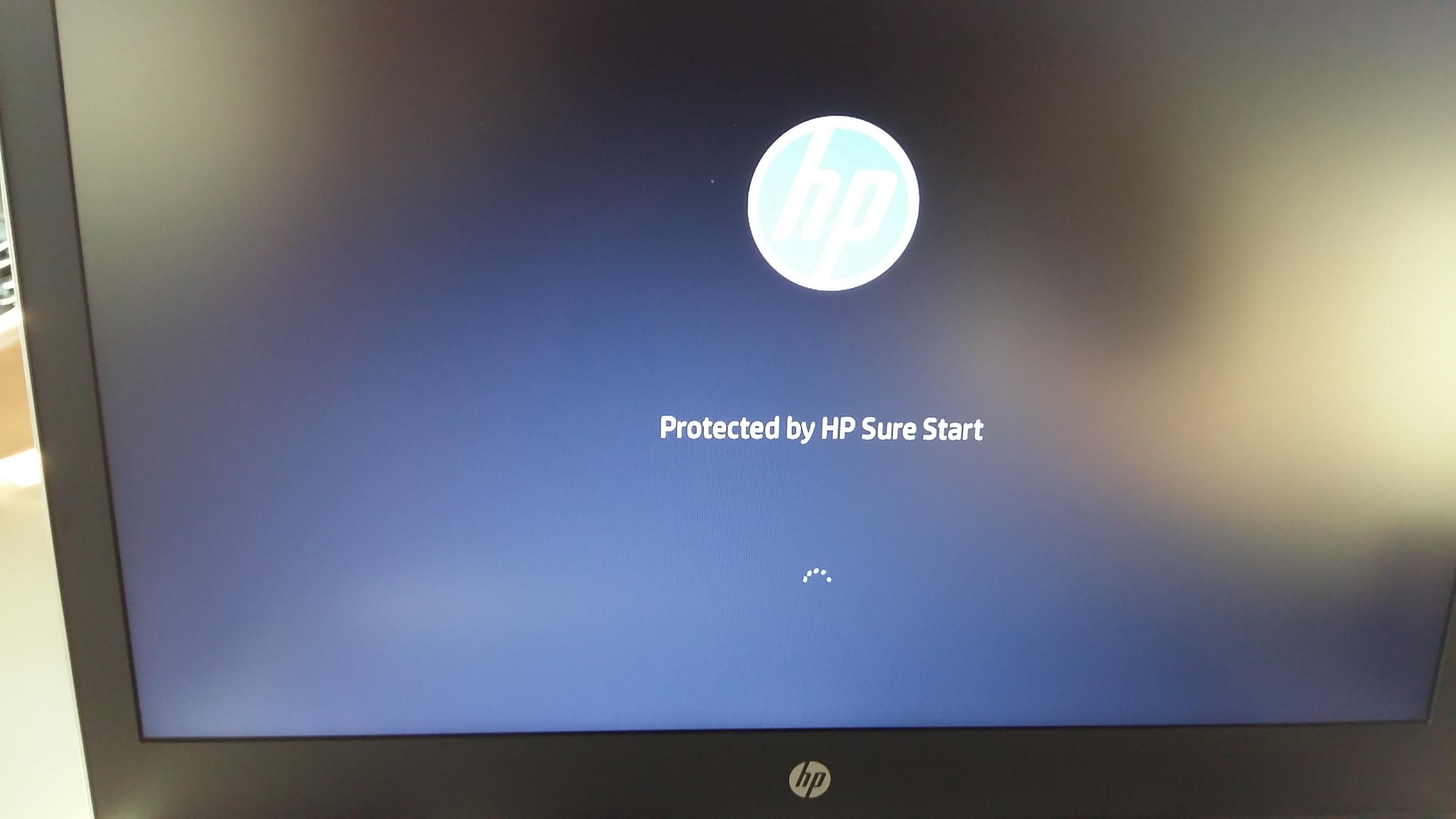 Notebook Stuck - HP logo screen - HP Support Community - 6965830