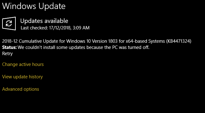 WHY MY UPDATE STUCK? - HP Support Community - 6976751