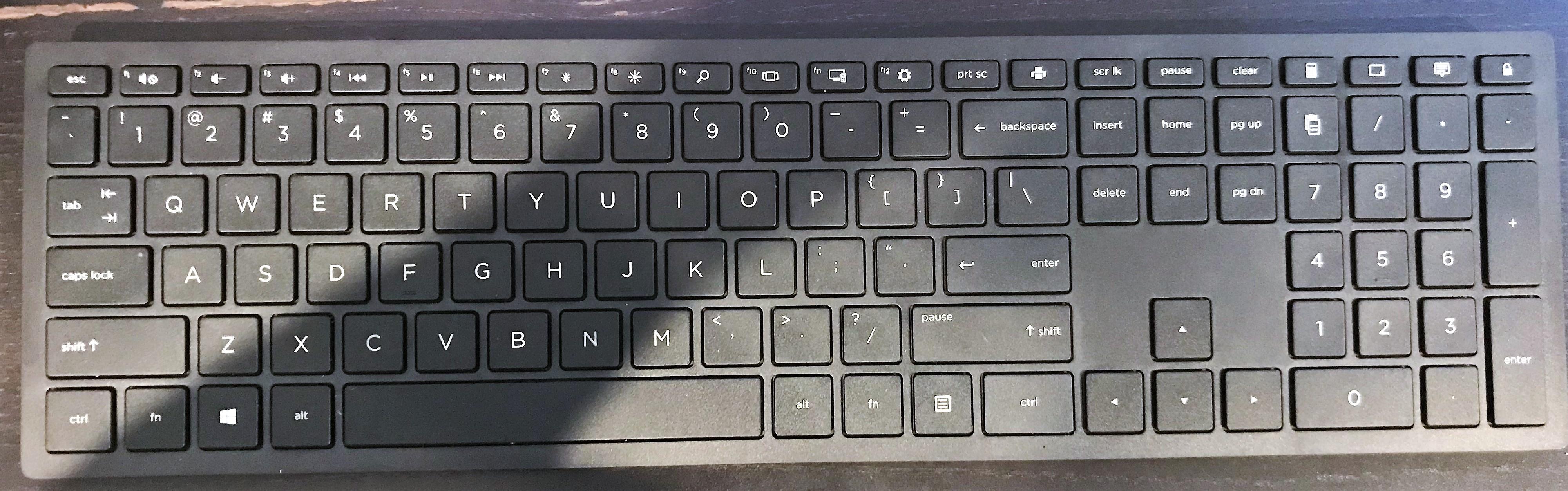 FN key lock on new Pavillion Desktop - No BIOS option - HP