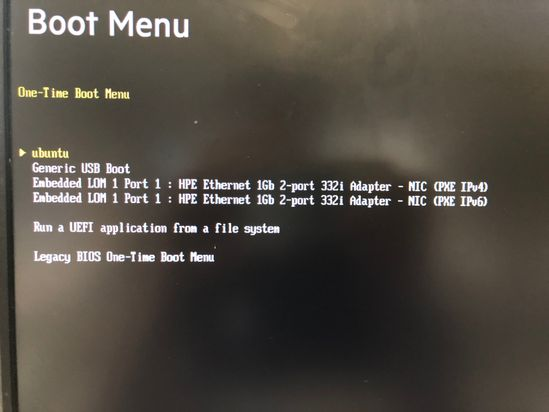 HP Proliant ML10 doesn't boot Linux - HP Support Community