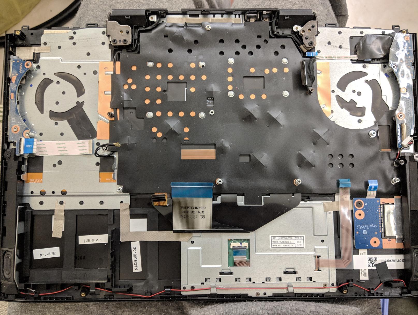 Fan control in command center in the omen laptops  - HP