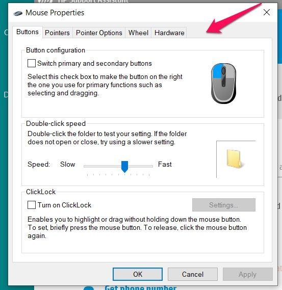 Solved: HP Pavilion/3JE92AV - Win 10 - Touchpad functions