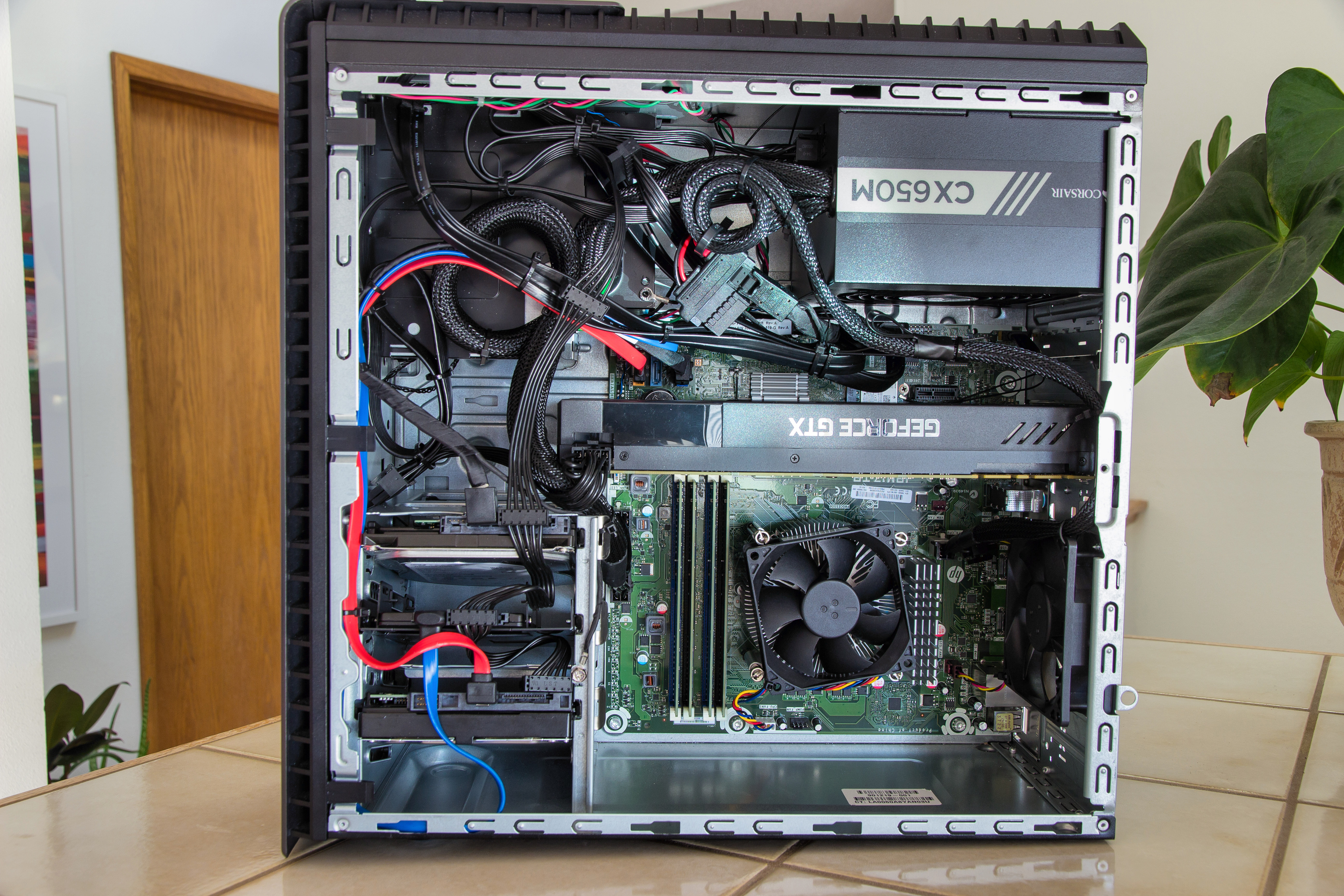 Solved: Want to upgrade my 870-244 gpu, cpu, psu - HP Support