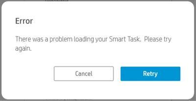 HP Smart app hangs after scan with