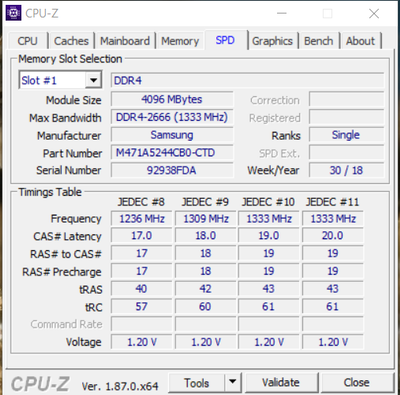 Solved: ddr4 2666 memory running at 2400 - HP Support