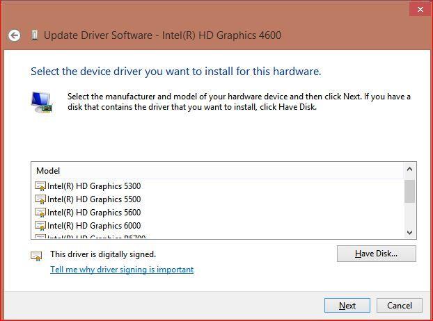 display driver intel hd graphics drivers for windows 8(r)