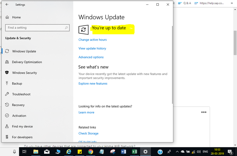Unable to connect Home WiFi after upgrading to Windows 10
