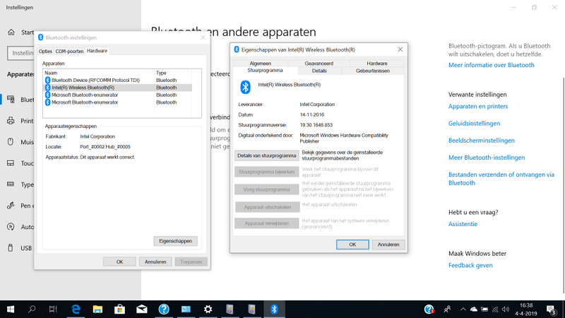 printscreen stuurprogramma Intel Wireless Bluetooth.png