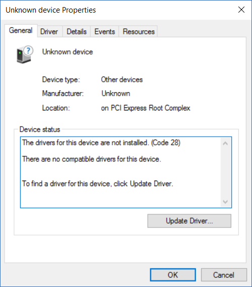 Solved: ACPI Driver - HP Support Community - 7095737