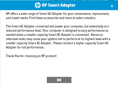 After reinstalling AC adapter driver, my laptop doesn't reco