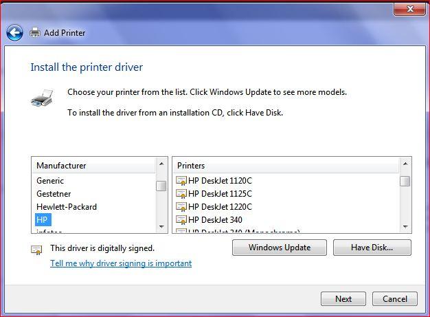 Скачать Драйвер Для Hp Deskjet 1220C Для Windows 7 64 Bit