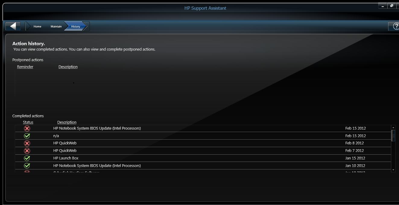 intel bios update not loading - HP Support Community - 1273277