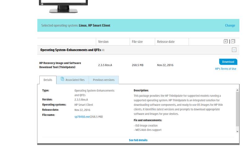 HP T410 Smart Zero Client Reset - HP Support Community - 6712228