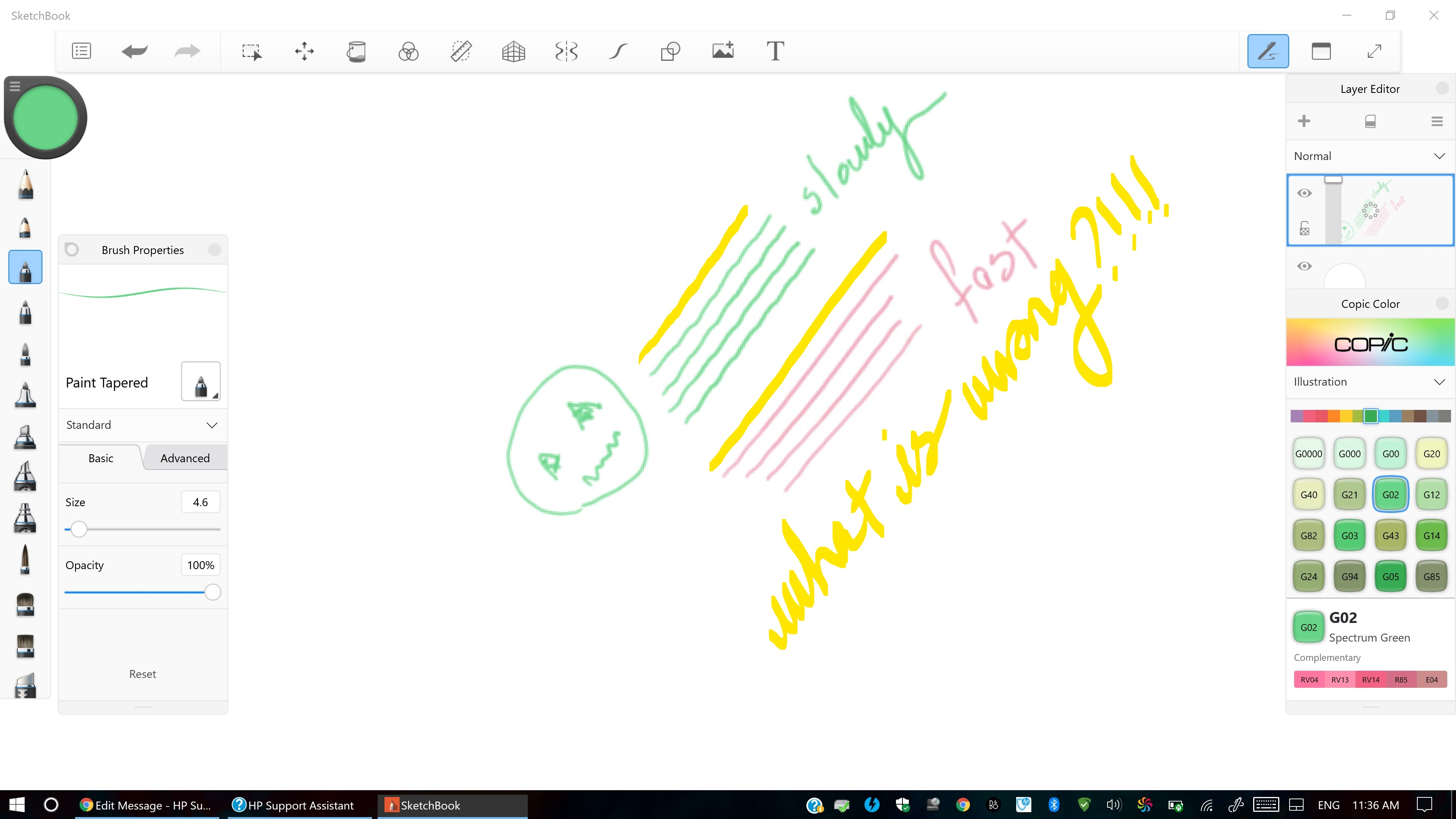 hp zbook x360 wacom AES Pen G2 input is causing wavy / jitt    - HP