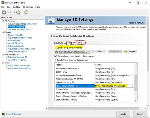 Manage 3D Settings Nvidia.JPG