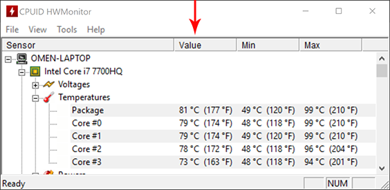 HP Omen High Temperatures While Gaming on CPU? - HP Support