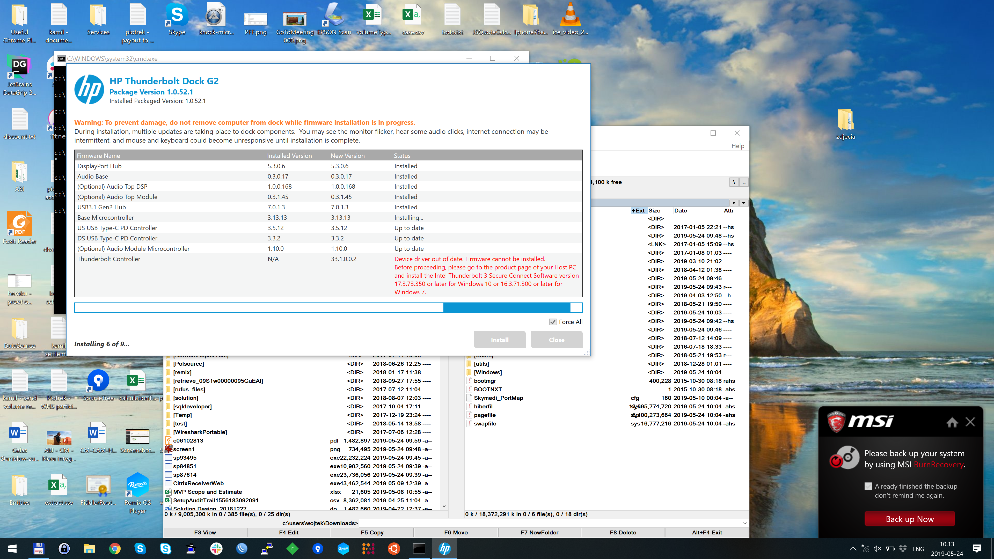skycontroller firmware update 1.2.3