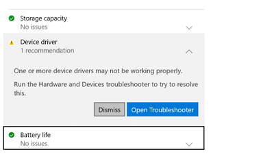 troubleshooter couldnt fix the issue