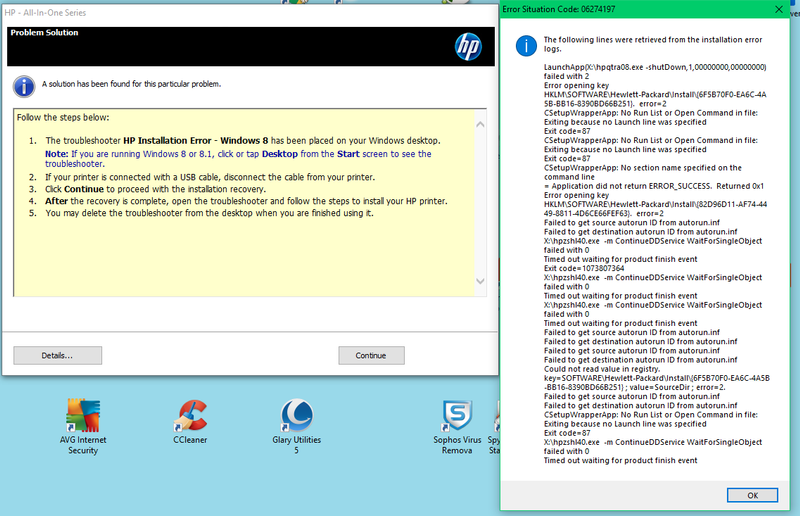 HP5600 series AIO install errors.png